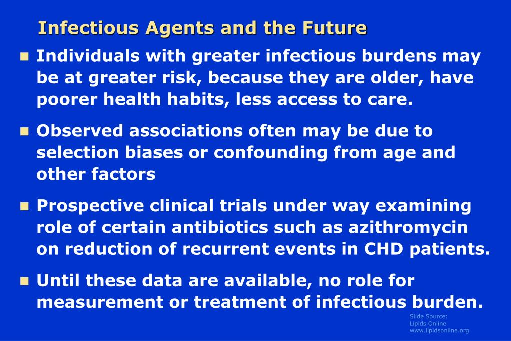 Infectious Agents and the Future
