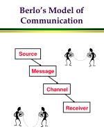 berlo s model of communication