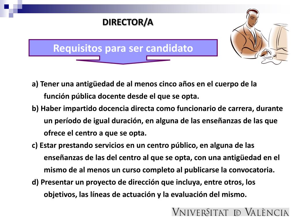 DIRECTOR/A
