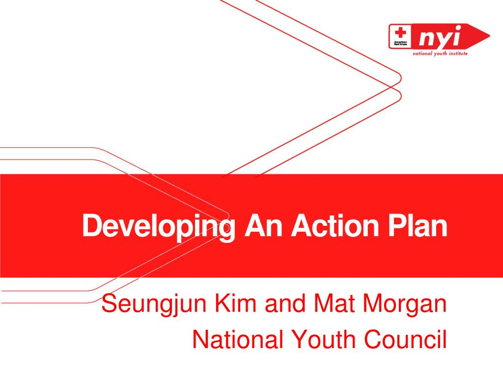 developing an action plan l.