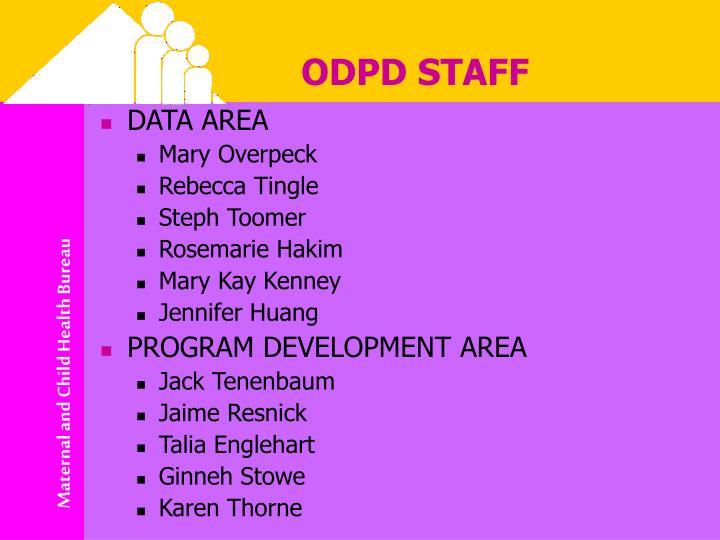 Odpd staff
