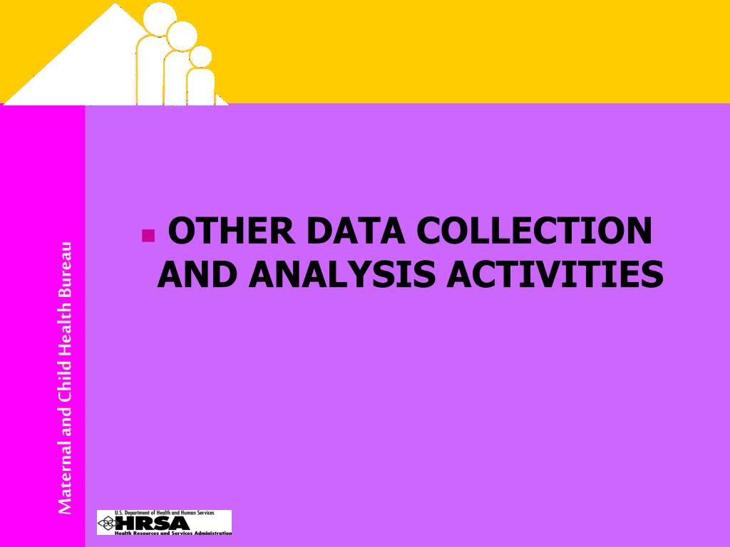 OTHER DATA COLLECTION AND ANALYSIS ACTIVITIES