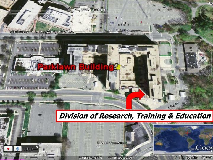 Division of Research, Training & Education