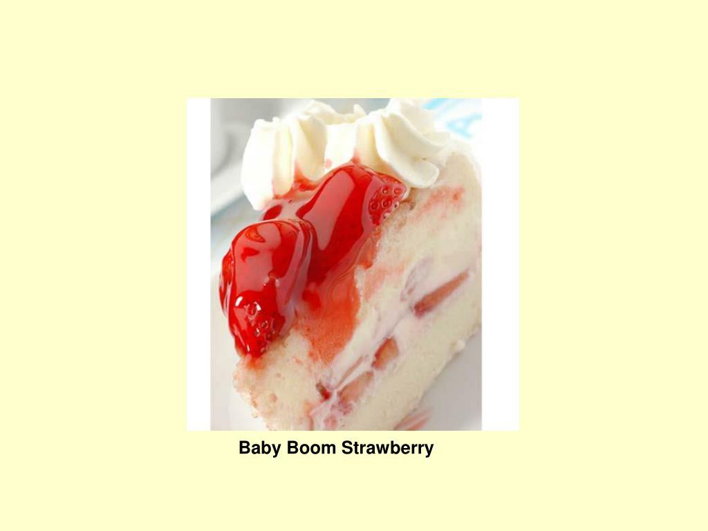 Baby Boom Strawberry