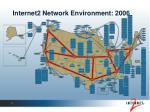 internet2 network environment 2006