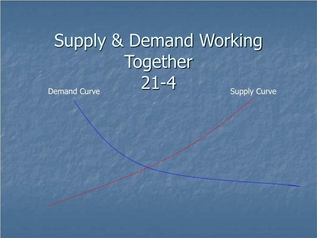 supply demand working together 21 4 l.