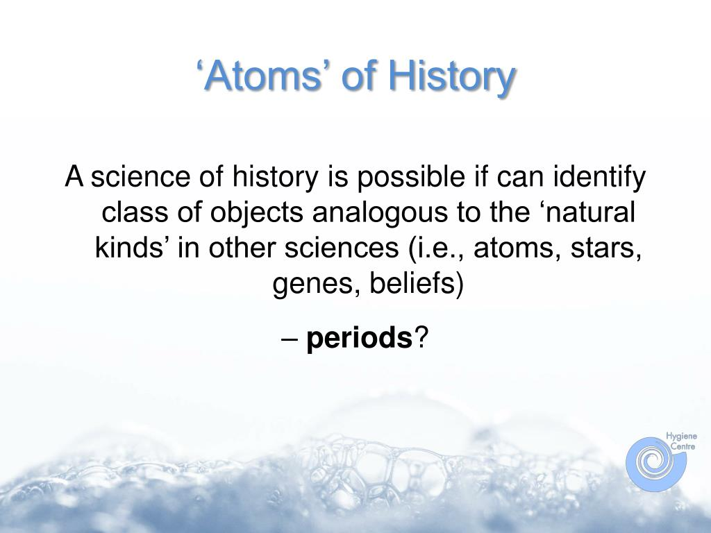 'Atoms' of History