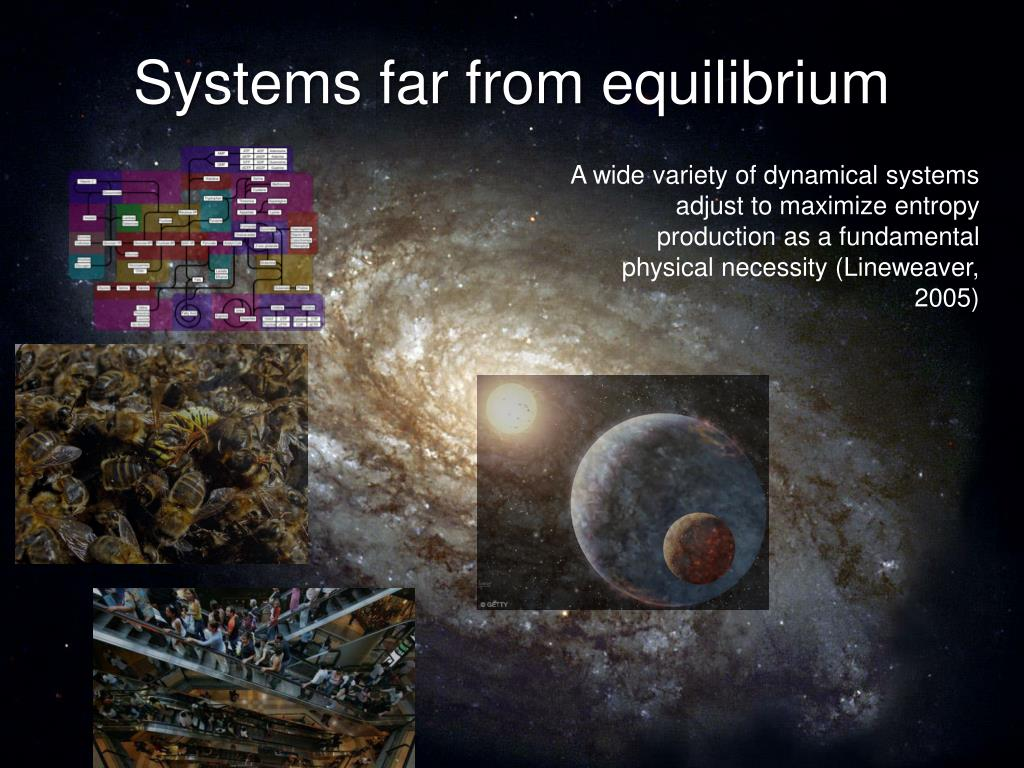 Systems far from equilibrium