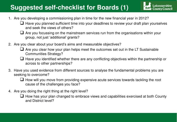Suggested self-checklist for Boards (1)