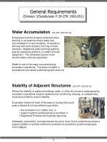 water accumulation 29 cfr 1926 651 h