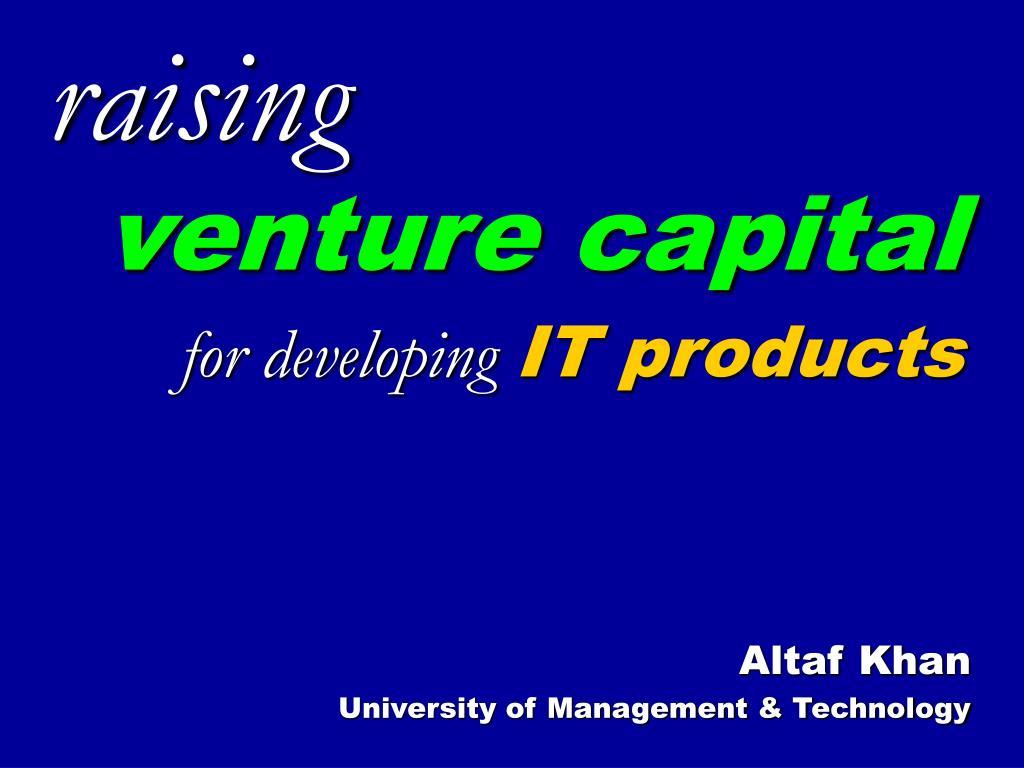 altaf khan university of management technology