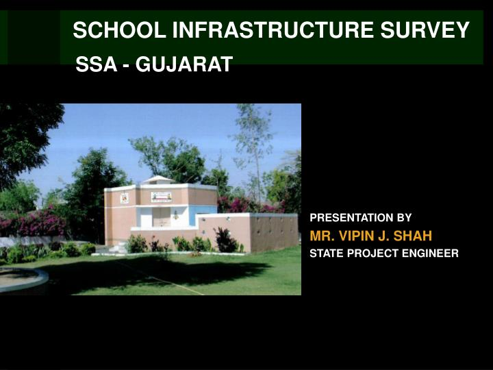 School infrastructure survey
