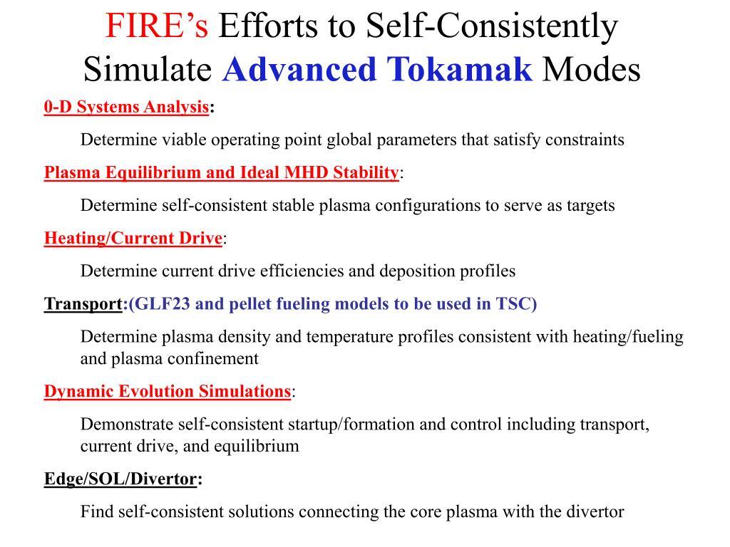 FIRE's