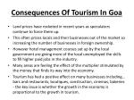 consequences of tourism in goa10