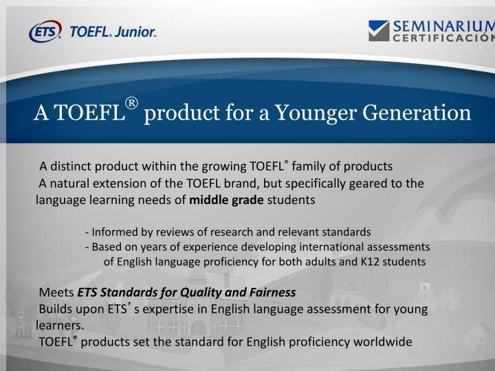 A TOEFL