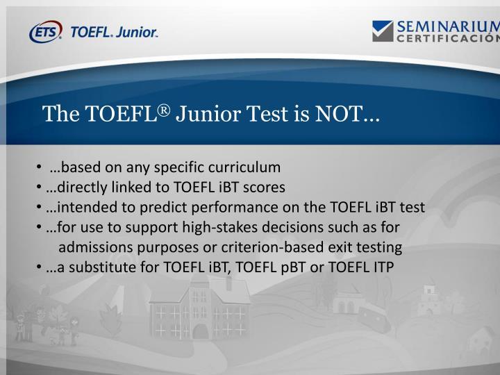 The TOEFL