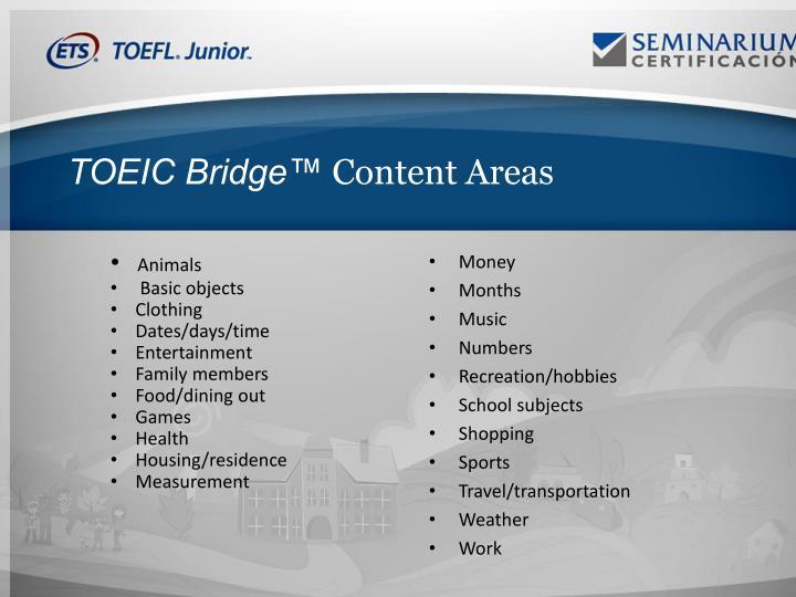 TOEIC Bridge™