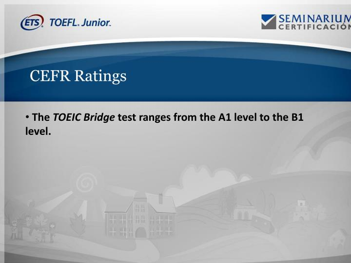 CEFR Ratings