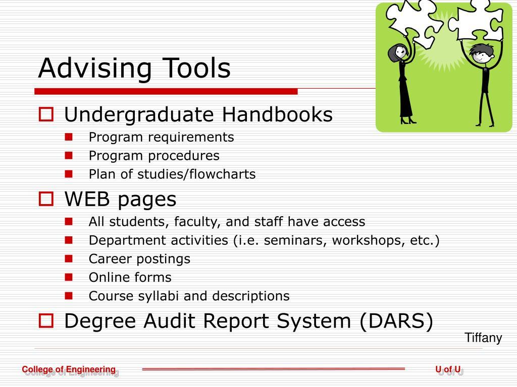 Advising Tools