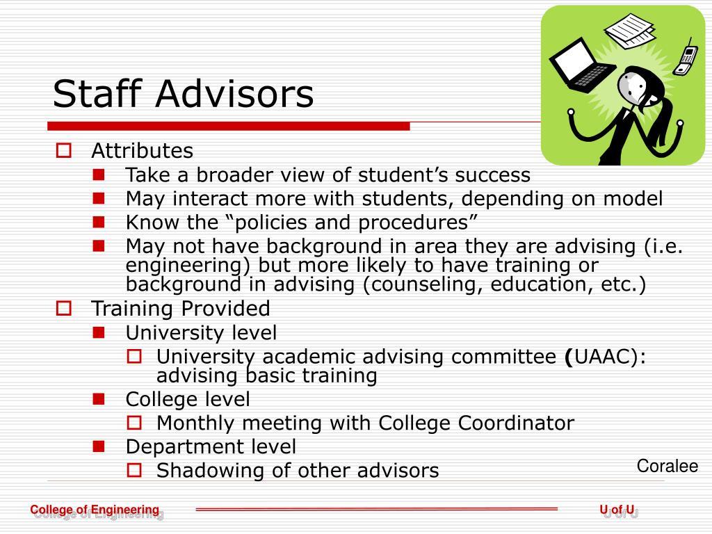 Staff Advisors