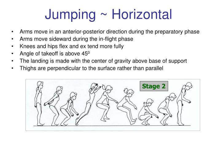 Jumping ~ Horizontal