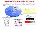 google network basics ad distribution