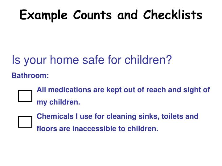 Is your home safe for children?