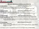2007 2008 website ad space package pricing