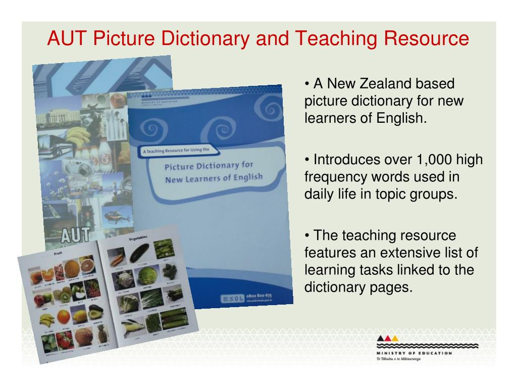 AUT Picture Dictionary and Teaching Resource