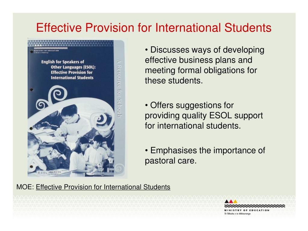 Effective Provision for International Students