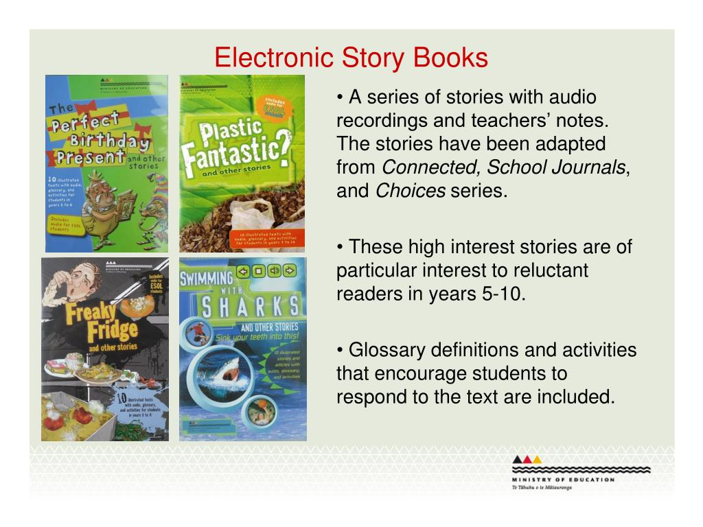 Electronic Story Books