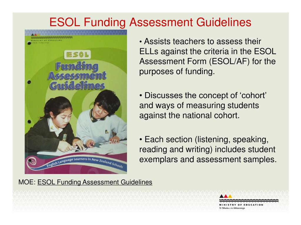 ESOL Funding Assessment Guidelines