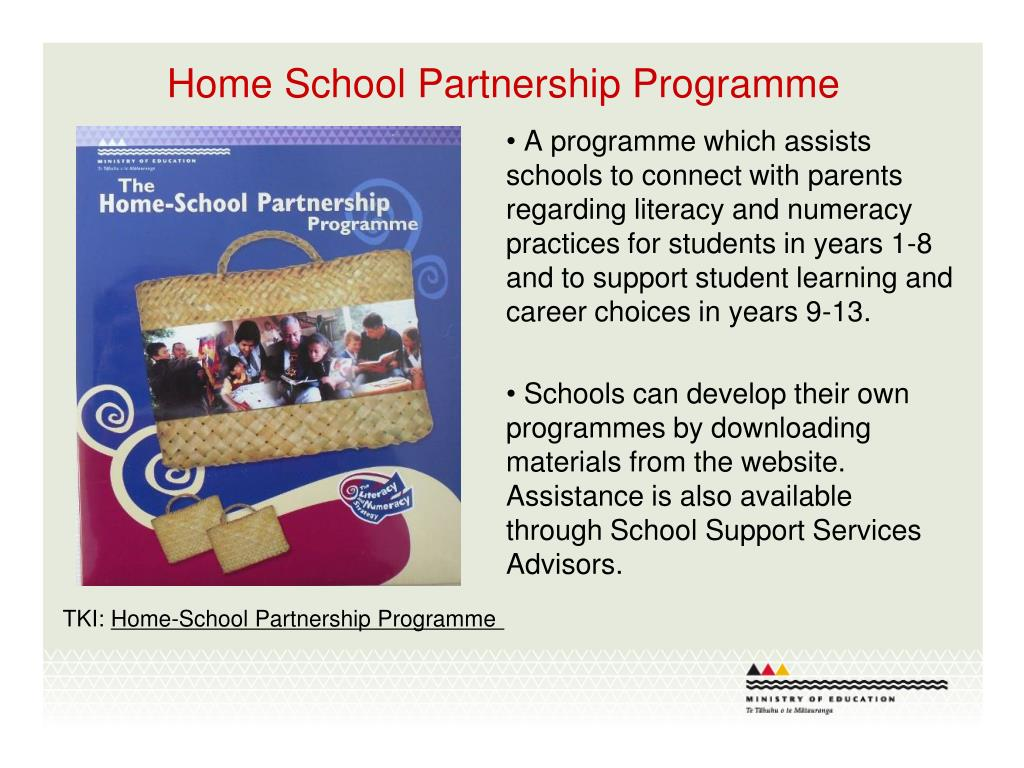 Home School Partnership Programme