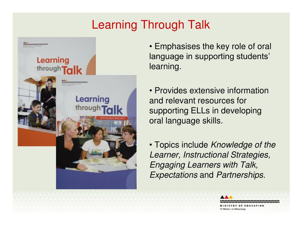 Learning Through Talk
