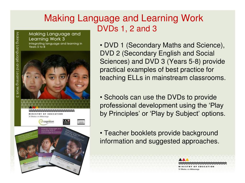 Making Language and Learning Work