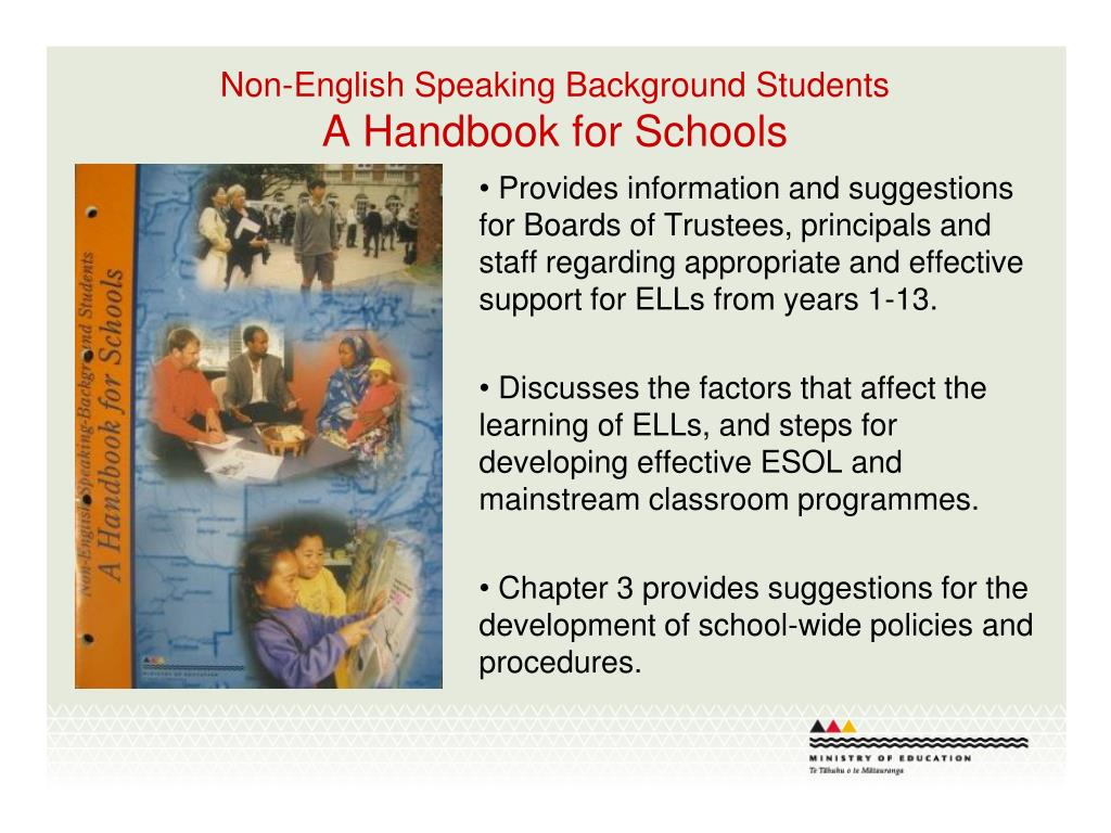 Non-English Speaking Background Students