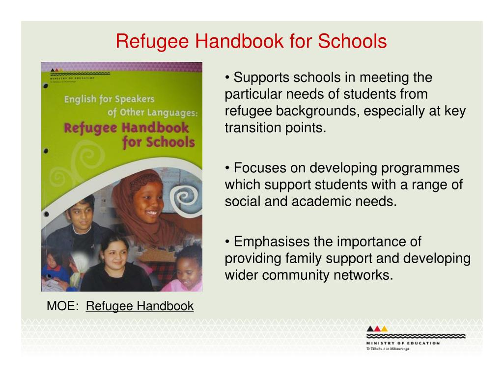 Refugee Handbook for Schools
