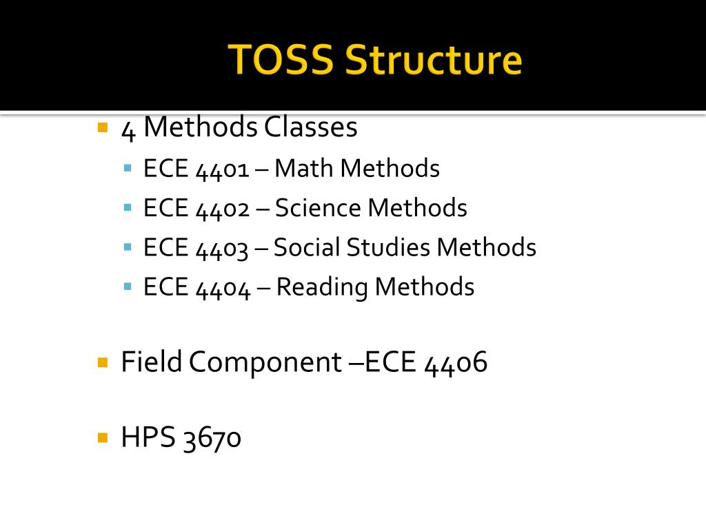 TOSS Structure