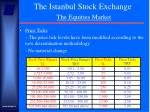 the istanbul stock exchange the equities market18