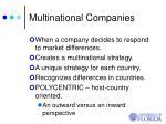 multinational companies