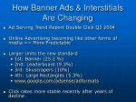 how banner ads interstitials are changing