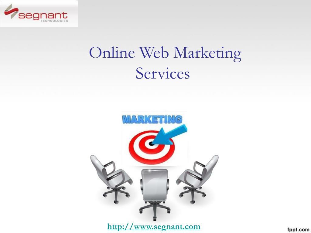 online web marketing services