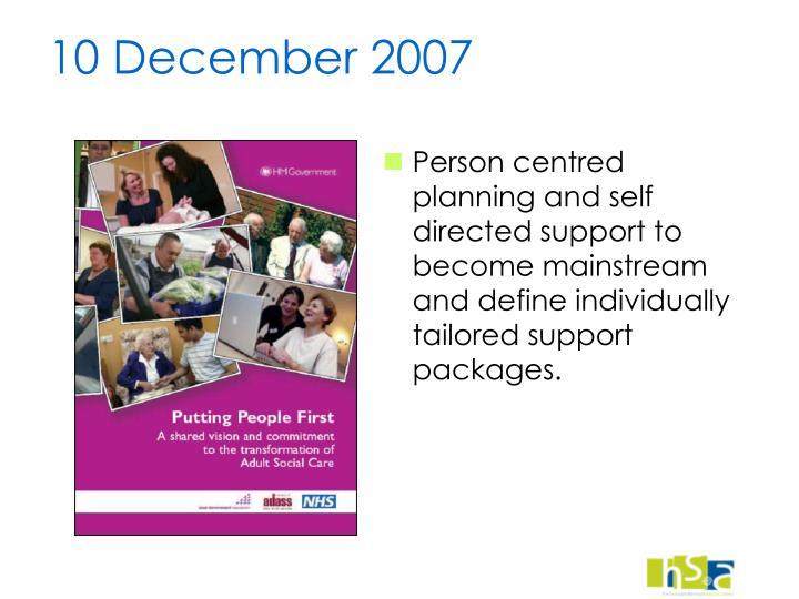 10 December 2007
