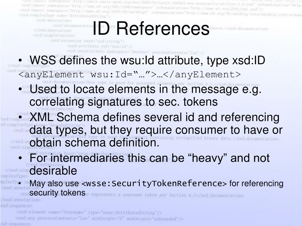 ID References