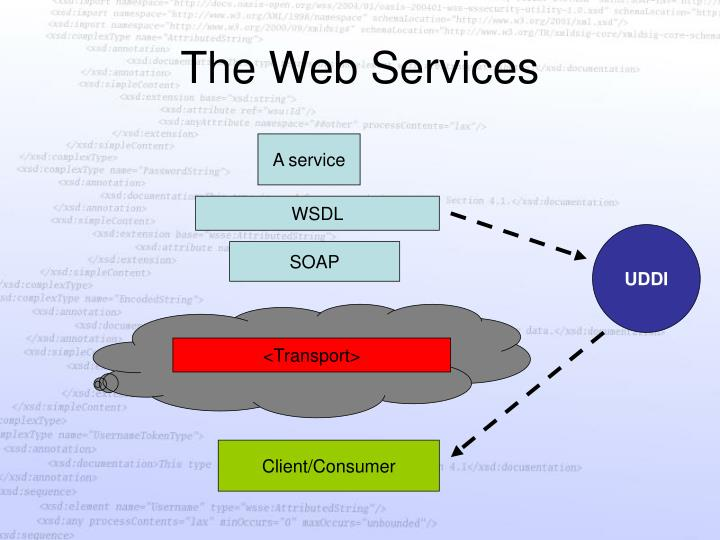 The web services