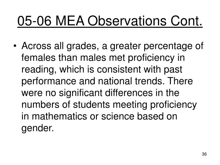05-06 MEA Observations Cont.