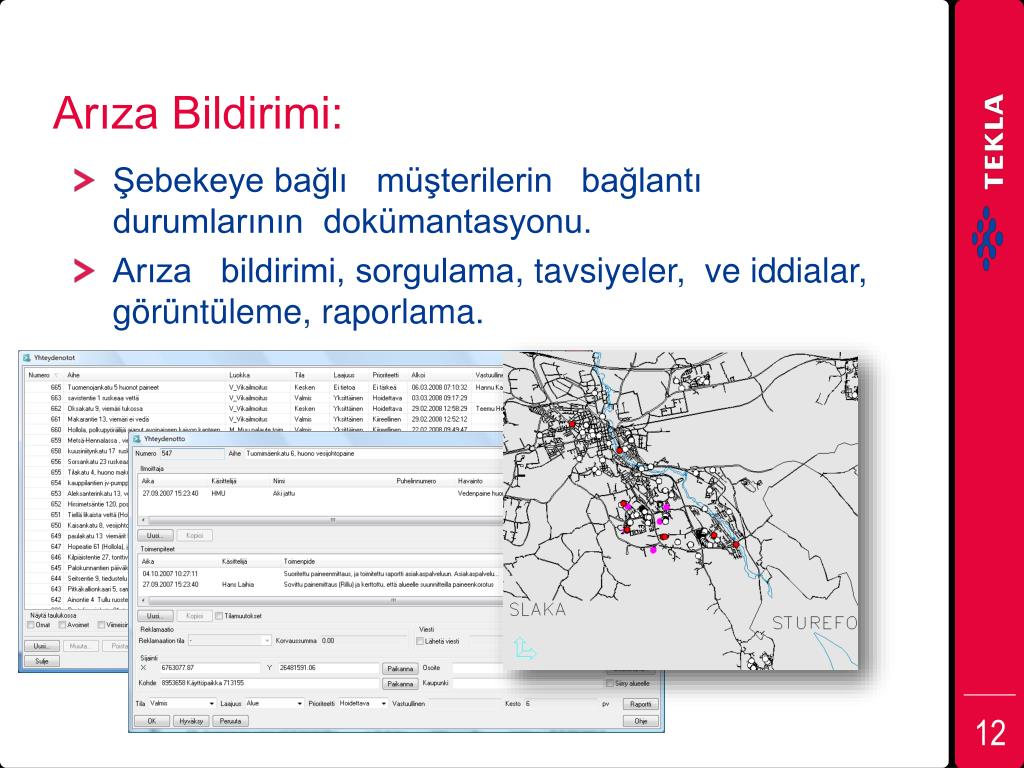Arıza Bildirimi: