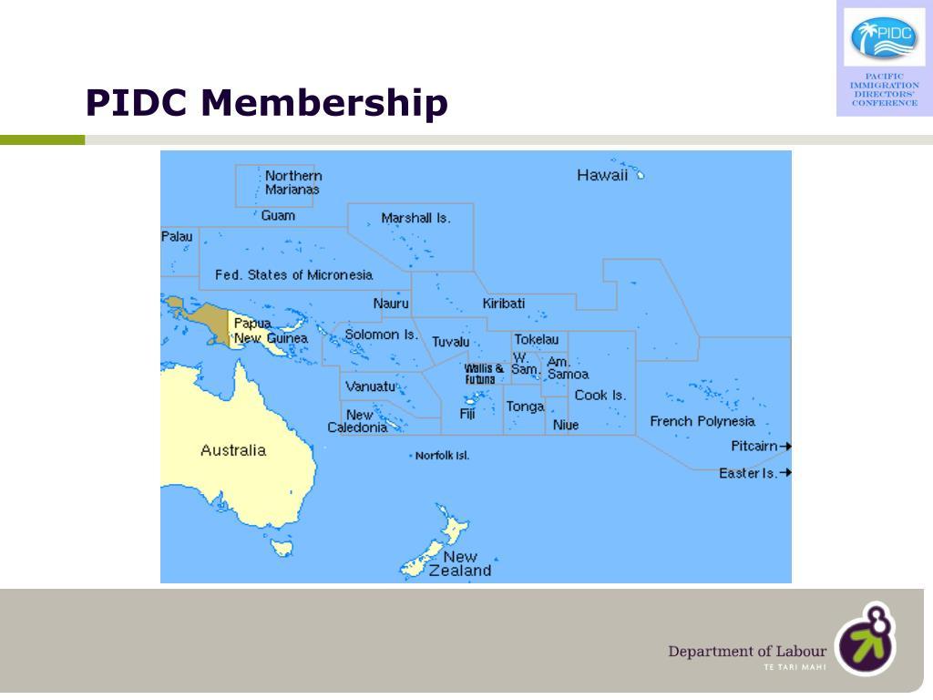 PIDC Membership