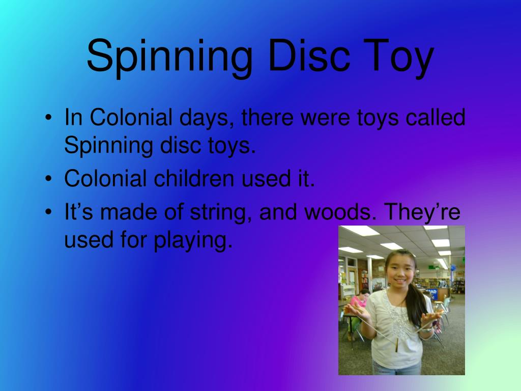 Spinning Disc Toy