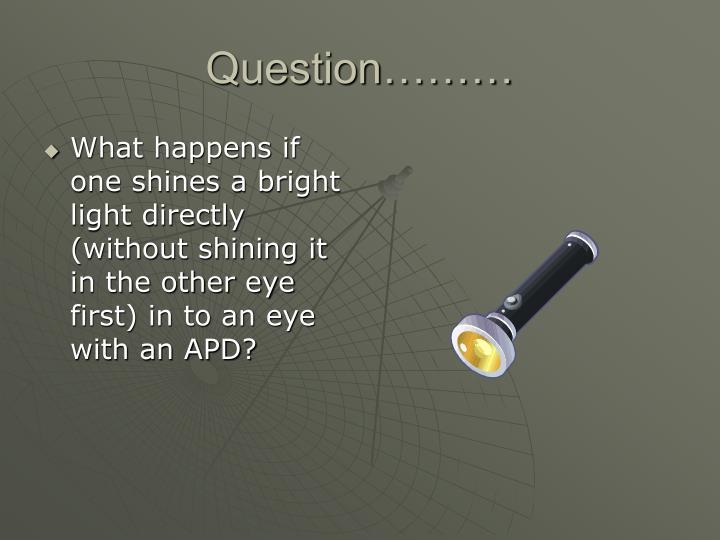 Question………